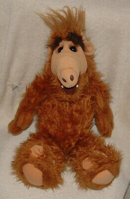Vintage Plush 18  Alf Alien Productions 1986 Coleco Toy Doll Animal  • 15$