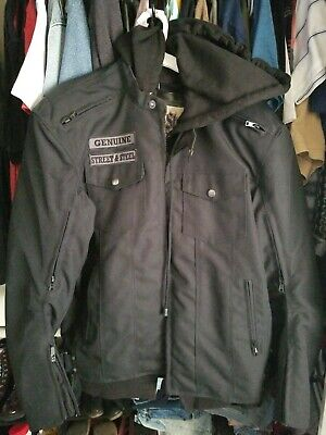 Street And Steel Anarchy Jacket, Men's S, Motorcycle Riding Jacket • 60$