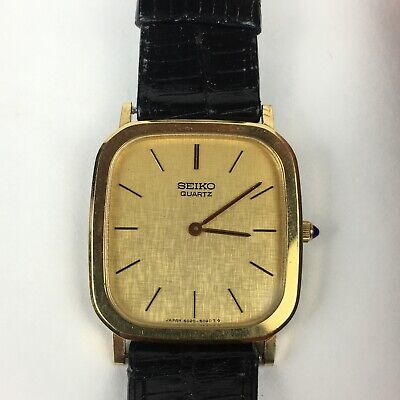 $ CDN76.12 • Buy Seiko Quatz Womens Watch Serial #031122 With Original Leather Straps