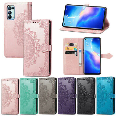 AU10.70 • Buy Mandala Wallet Flip Leather Case Cover For Oppo A9 A5 2020 Reno Z F11 A9 AX7 F9