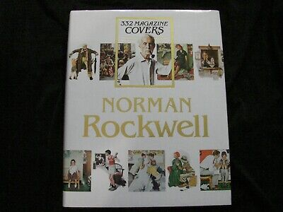 $ CDN69.85 • Buy Norman Rockwell 332 Magazine Covers Coffee Table Book 455 Pgs Color Illus. 1979