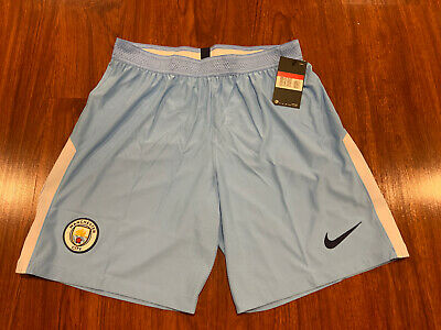 $30 • Buy 2017-18 Nike Manchester City Men's Home Soccer Jersey Shorts Large L Player Ver