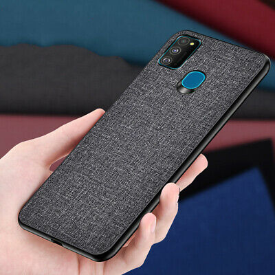 AU5.22 • Buy For Huawei Honor View 30 V30 Pro Fabric Canvas Hybrid Business Cloth Case Cover