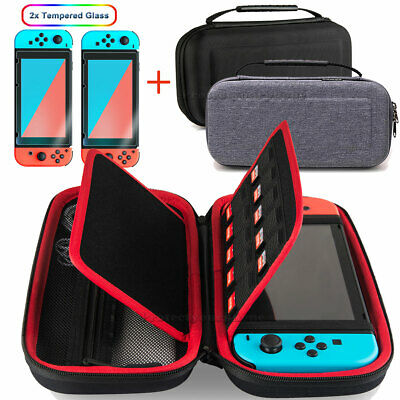 $11.99 • Buy Nintendo Switch Carrying Case Hard Shell Portable Pouch Travel, Screen Protector