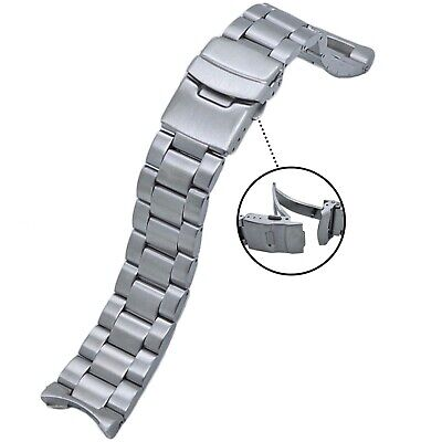 $ CDN48.51 • Buy 316L Solid Stainless Steel Watch Band 22MM Made To Fit SEIKO SKX007/SKX009/011