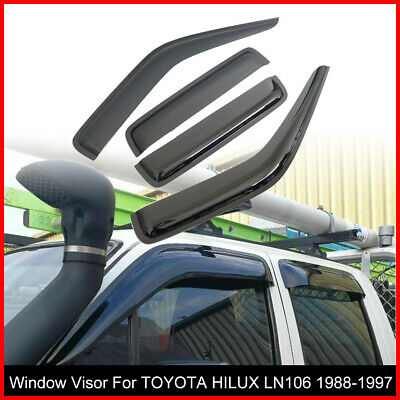 AU43.95 • Buy Premium Weather Shields Window Visors For TOYOTA HILUX LN106 88-97 Tinted