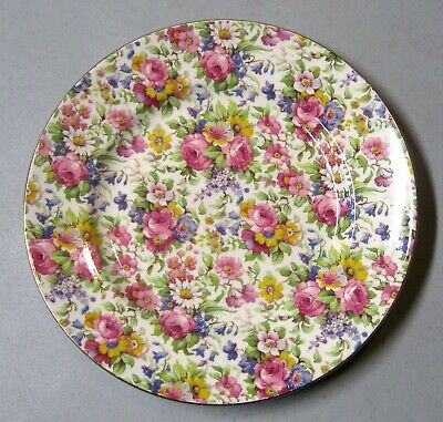 $ CDN26.71 • Buy Royal Summertime Chintz Luncheon Plate