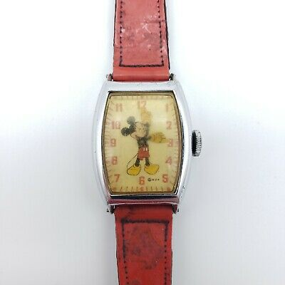 $ CDN65.68 • Buy Vintage Ingersoll US Time WDP Mickey Mouse Mechanical Watch 1940's Parts Repair
