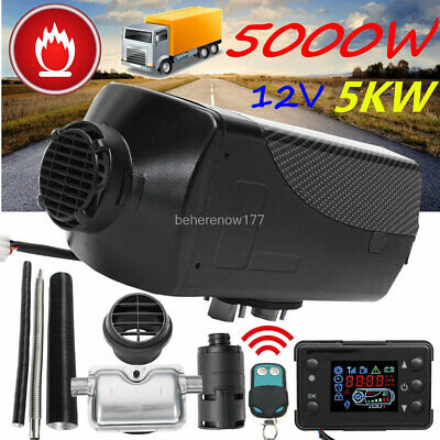 $ CDN293.35 • Buy 5KW 12V Air Diesel Heater LCD Monitor Thermostat For Truck Boat Car Trailer BUS