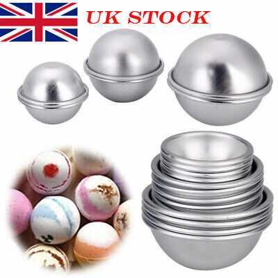£6.33 • Buy 16pcs DIY Soap Mold Bath Bomb Fizzy Craft Cake Candle Tart Moulds Sphere Metal