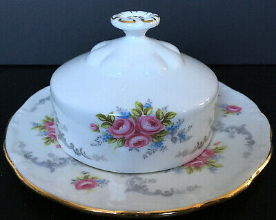 £24.74 • Buy Royal Albert Tranquility Butter Dish First Quality England