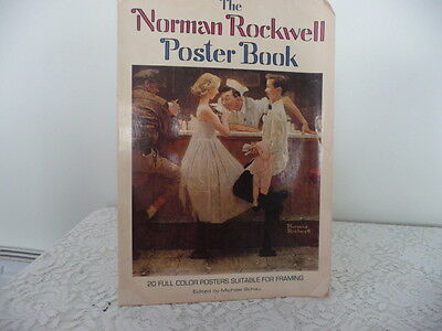 $ CDN14.27 • Buy Norman Rockwell Figurine Poster Book With 20 Prints For Framing   16 X 11 Prints