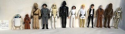$ CDN160.19 • Buy 1977 Vintage Star Wars First 12 Action Figures Original Figure Lot All 12 ANH