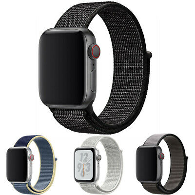 $5.95 • Buy Nylon Band Strap For Apple Watch IWatch Series 6 SE 5 4 3 2 1 38/40mm 42/44mm
