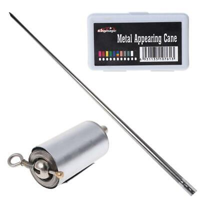 £5.46 • Buy Appearing Cane Metal Cudgel Illusion Trick Magic Tricks For Magician Stage Prop