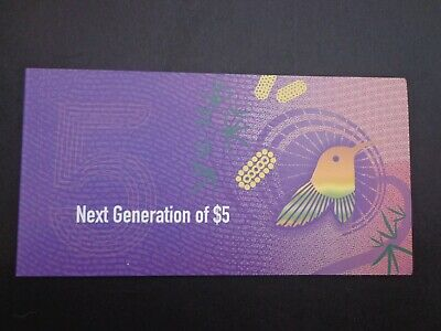 AU19.95 • Buy Australian :new Generation Of $5 Note.early Issue -:- In As Issued Condition.