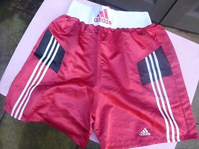 Mens Vintage ADIDAS Boxing Shorts - Size L Great Condition • 29.99£