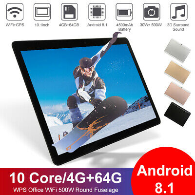AU102.99 • Buy 10.1  Android 9.0 10Core Tablet 8 256GB IPS Bluetooth WiFi Tablet Dual Camera AU