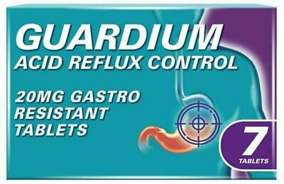 GUARDIUM Tablets Heartburn And Acid Reflux Control By Gaviscon**Free Delivery** • 14.79£