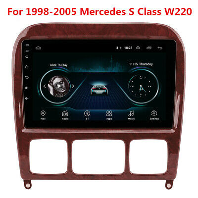 $212.30 • Buy Android Radio GPS For 98-05 Mercedes Benz W220 S280 S320 S350 S400 S430 S500 600