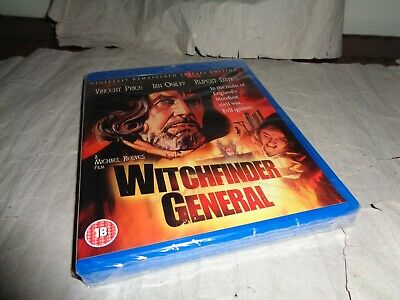 £17.99 • Buy WITCHFINDER GENERAL VINCENT PRICE Blu-ray UK RELEASE NEW FACTORY SEALED