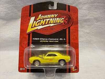 $4 • Buy Johnny Lightning Official Pace Car 1969 Chevy Camaro ZL 1 - Yellow