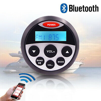 $48.43 • Buy Marine Stereo Radio Boat Sound System Bluetooth Waterproof Audio Car MP3 Player