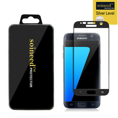 $ CDN7.90 • Buy SOINEED Samsung Galaxy S7 FULL COVER Tempered Glass Screen Protector BLACK