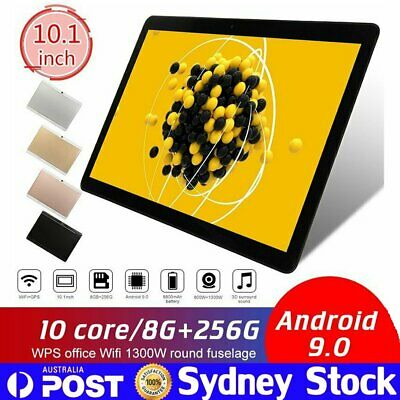 AU105.99 • Buy Android 9.0 Deca Core 10.1 Inch HD Game Tablet Computer PC GPS Wifi Dual Camera
