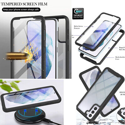 AU2.09 • Buy 3in1 Screen Protector Clear Case 360°Full Body Protective Shockproof Cover Lot