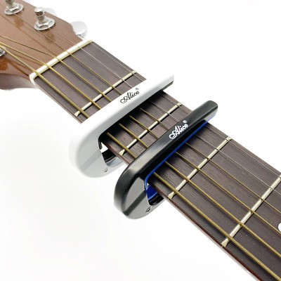 $ CDN9.15 • Buy Guitar Capo Electric Acoustic Metal Capotrase Also For Bass Ukulele Color Black
