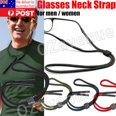 AU5.95 • Buy Reading Eyeglass Glasses Chain Cord Lanyard Sunglasses Neck Holder Sports Strap