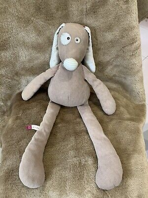 MAMAS AND PAPAS D IS FOR DOG SOFT TOY COMFORTER DOUDOU Please See Pictures • 12£