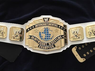 AU219.99 • Buy WWE Intercontinental Heavyweight Championship Leather Belt Plates Adults Replica