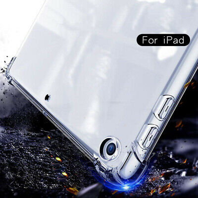 AU18.99 • Buy Lightweight Flexible Transparent Bumper Back Shockproof Case Glass Film All IPad