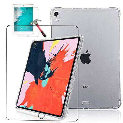 AU18.99 • Buy Clear Grip Soft Flexible Transparent Shockproof Bumper Glass For IPad Pro 11inch