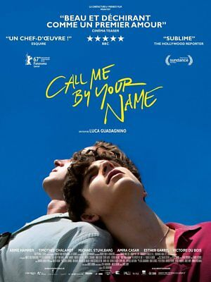 AU79.90 • Buy Call Me By Your Name Poster Cinema Original Folded Movie Poster Luca Guadagnino