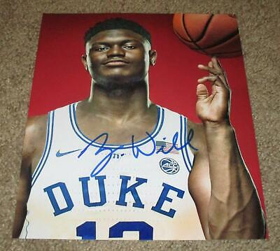 $74.95 • Buy Zion Williamson Signed Autographed 8x10 Photo (proof) New Orleans Pelicans Duke