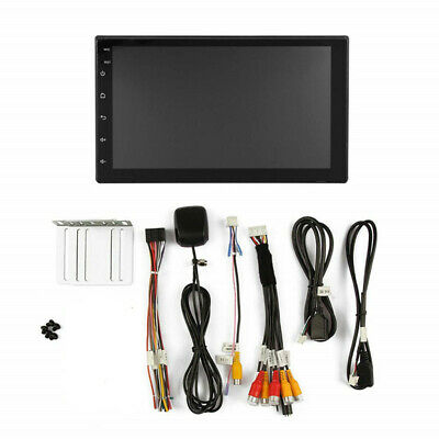 $93.75 • Buy 7Inch Touch Screen 2 Din Android Car Stereo Radio Bluetooth WiFi GPS Navigation