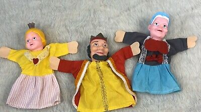 $26 • Buy Mr Rogers Neighborhood Rubber Head Hand Puppets Lot Of 3 King Friday Royal