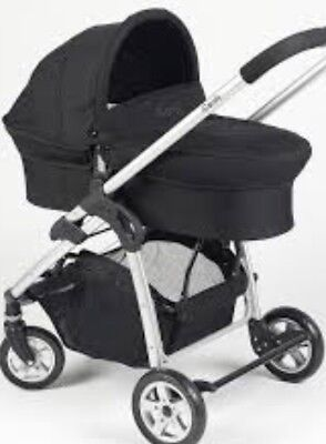 ICandy Cherry Black Single Seat Stroller And Carry Cot • 70£