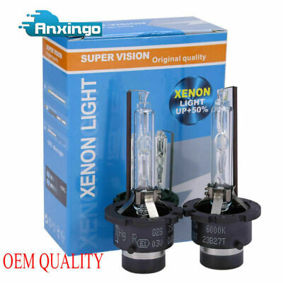 $18.68 • Buy 2PCS D2S 6000K HID Xenon Headlight Bulbs For Osram Acura TL High &Low White Beam