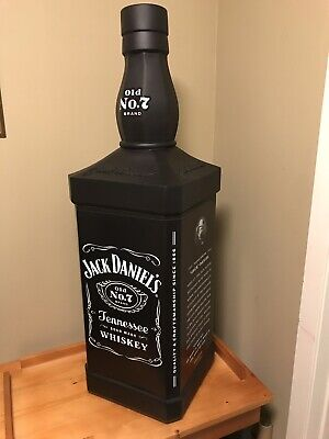 Rare & Giant Jack Daniels Display Bottle!! / Perfect For Your Man Cave!! Over 3' • 325.85£