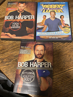 Dvd Workout KettleBell Weights Sculpted Body Bob Harper Inside Out Method • 6.08£