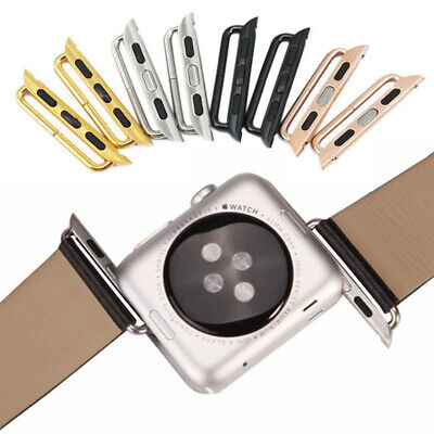 $ CDN4.19 • Buy Apple Watch 38mm 40mm 42mm 44mm Band Strap Adapters Lugs IWatch 1 2 3 4 5 Series