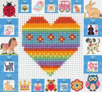 £8.89 • Buy Anchor Counted Cross Stitch Kit - Perfect For Children / Beginners - 1st Kit