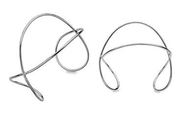 Solid Silver Cuff Torque Bangle Twisted Bracelet Hallmarked Boxed • 104.95£