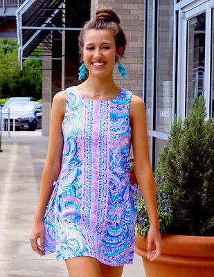 $118 • Buy Lilly Pulitzer NWT Donna Romper Multi Happy As A Clam  $178