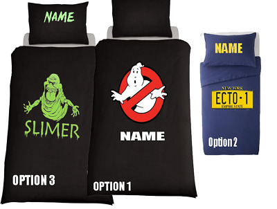 GHOSTBUSTERS AFTERLIFE MOVIE ECTO 1 Duvet Cover Bedding Set *PERSONALISED*  • 31.99£
