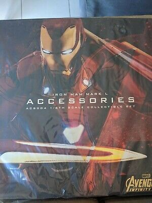 $ CDN302.24 • Buy Hot Toys ACS004 Infinity War Iron Man Mark L 50 Accessories Set UNOPENED